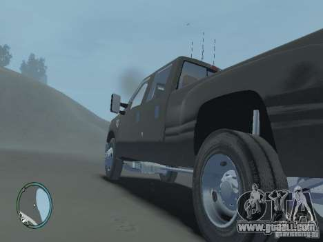 Ford F-350 2008 v2.0 for GTA 4 back view