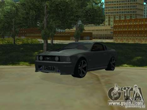 Ford Mustang GTS for GTA San Andreas