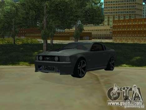Ford Mustang GTS for GTA San Andreas