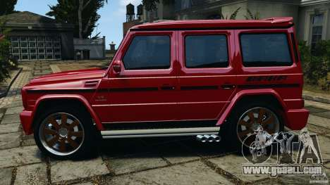 Mercedes-Benz G55 AMG for GTA 4 left view