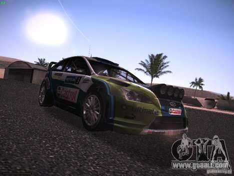 Ford Focus RS WRC 2006 for GTA San Andreas right view