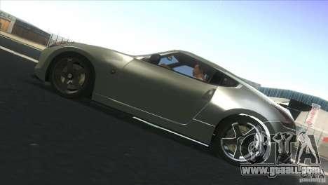 Nissan 370Z Drift 2009 V1.0 for GTA San Andreas right view