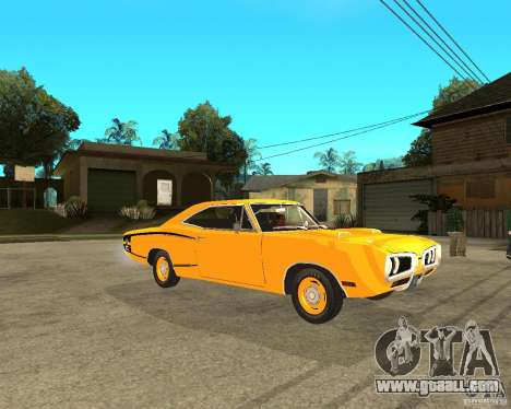 Dodge Coronet Super Bee 70 for GTA San Andreas right view