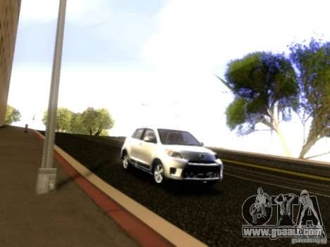 Scion xD for GTA San Andreas side view