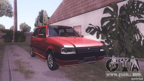 Fiat Uno Mile Fire Original for GTA San Andreas