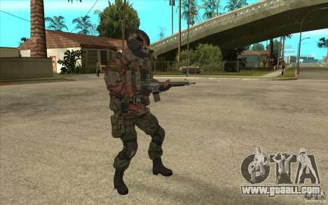Special Forces Flag for GTA San Andreas second screenshot