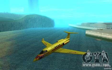 Shamal 1.0 Final for GTA San Andreas