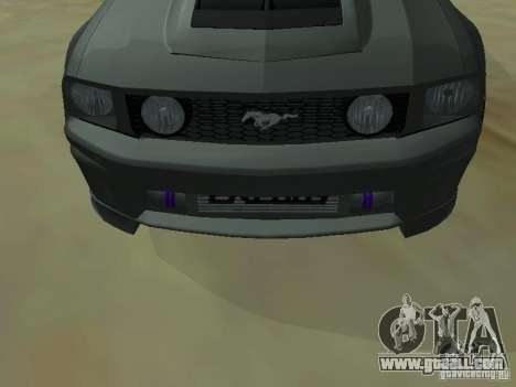 Ford Mustang GTS for GTA San Andreas right view