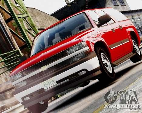 Chevrolet Suburban 2006 V1.1 CIVIL for GTA 4