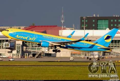 Loading screens Boeing 767 for GTA San Andreas second screenshot