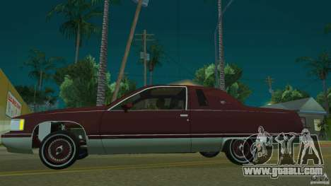 Cadillac Fleetwood 1993 for GTA San Andreas left view