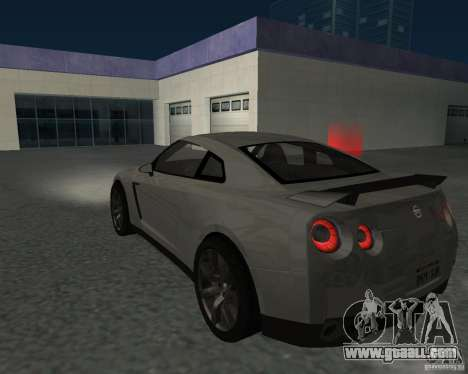 Nissan GT-R Pronto for GTA San Andreas left view