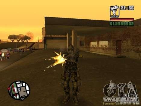 Military stalker in èkzoskelete for GTA San Andreas fifth screenshot