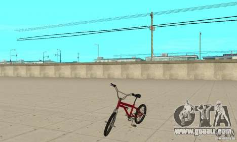 SA BMX for GTA San Andreas