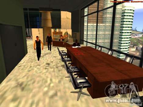20th floor Mod V2 (Real Office) for GTA San Andreas sixth screenshot