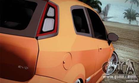 Fiat Punto Evo 2010 Edit for GTA San Andreas right view