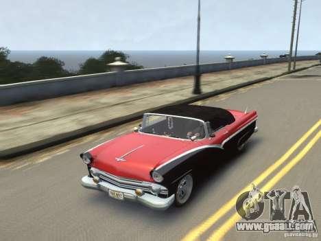 Ford Sunliner Custom 1956 for GTA 4 side view