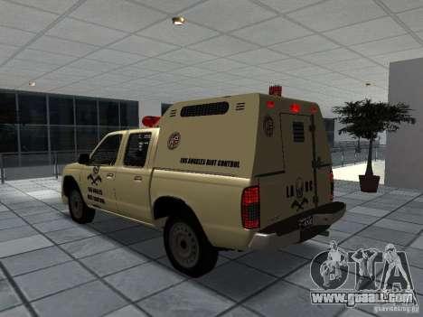 Nissan Terrano LARC for GTA San Andreas left view