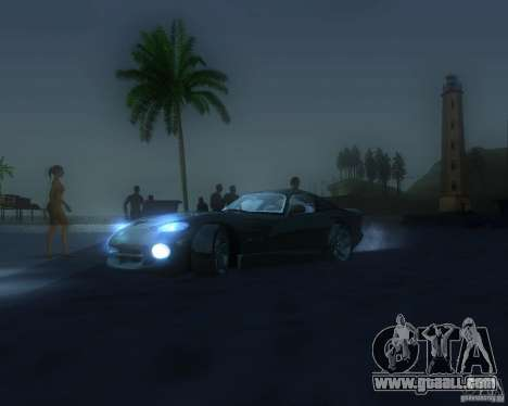 Global graphic modification for GTA San Andreas eighth screenshot