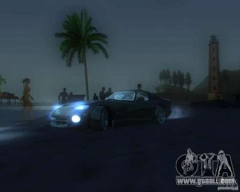 Global graphic modification for GTA San Andreas eighth screenshot