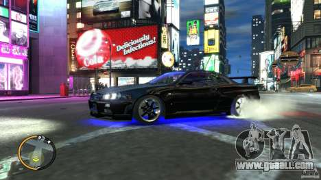 Nissan SkyLine R34 GT-R V-spec II for GTA 4