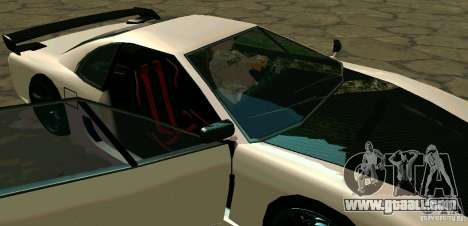 New Turismo for GTA San Andreas upper view