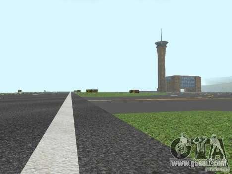 New Airport San Fierro for GTA San Andreas forth screenshot