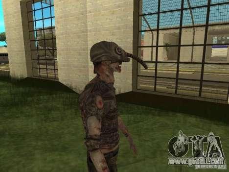 Snork from S.T.A.L.K.E. r for GTA San Andreas third screenshot