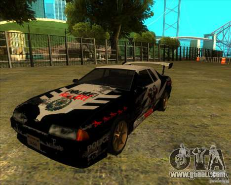 Elegy with new spoilers for GTA San Andreas