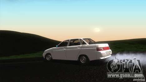 Vaz 2110 Drain for GTA San Andreas left view