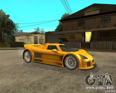 Gumpert Appolo for GTA San Andreas right view