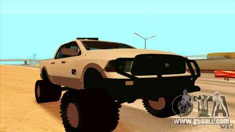 Dodge Ram 2500 4x4 for GTA San Andreas
