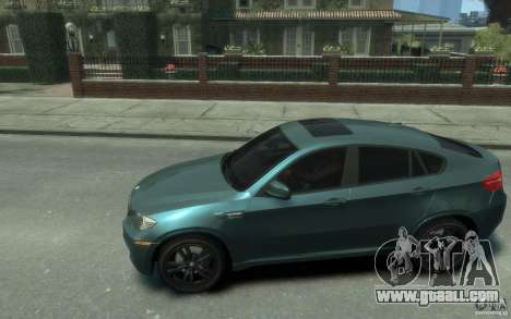 BMW X6-M 2010 for GTA 4 left view