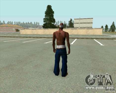 2Pac for GTA San Andreas third screenshot
