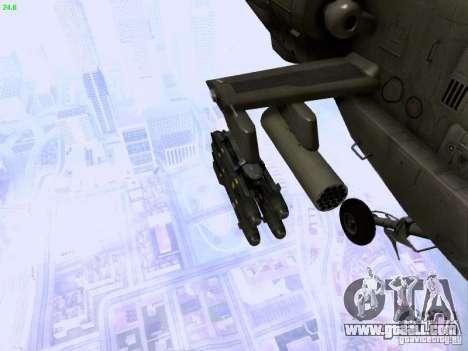 HD Hunter for GTA San Andreas upper view