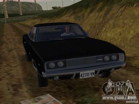 Dodge Charger 426 R/T 1968 v2.0 for GTA Vice City left view