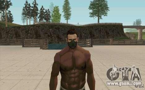Stalker Mask for GTA San Andreas