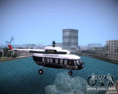 MI-8 for GTA Vice City right view