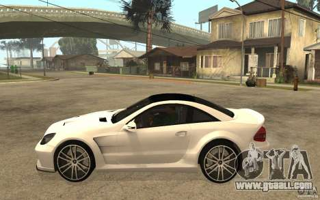 Mercedes-Benz SL65 AMG BS for GTA San Andreas left view