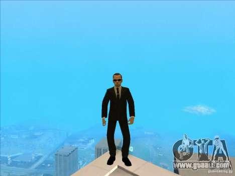 Matrix Skin Pack for GTA San Andreas seventh screenshot
