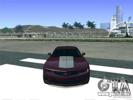 Chevrolet Camaro SS for GTA San Andreas right view