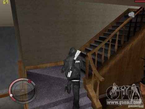 Walk style for GTA San Andreas third screenshot