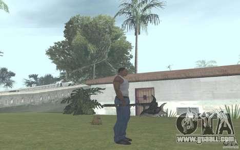 Skullaxe for GTA San Andreas second screenshot