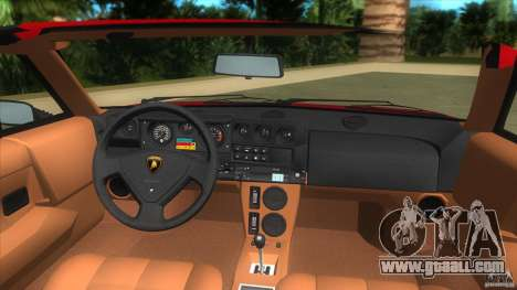 Lamborghini Jalpa P350 1984 for GTA Vice City right view