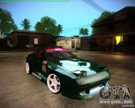Mazda RX-7 FC3S Drift from Moscow for GTA San Andreas right view