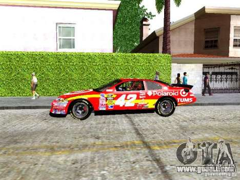 Chevrolet Impala SS Nascar Nr.88 for GTA San Andreas left view