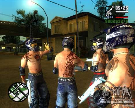 New skins for Groove for GTA San Andreas