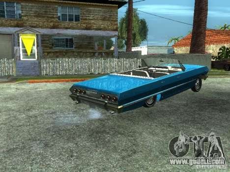 Chevrolet Impala 1964 (Lowrider) for GTA San Andreas left view