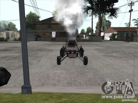 Turbo car v.2.0 for GTA San Andreas back left view