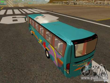 Mercedes-Benz Vissta Buss LO for GTA San Andreas back view